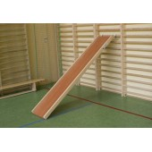 A Wooden Slide for Wall-bars