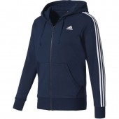 Dressipluus meestele adidas Essentials 3 Stripes Full Zip Fleece M S98791