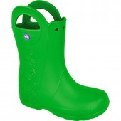 Rainboots for kids Crocs Handle It Kids 12803 green