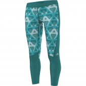 Naiste treeningretuusid adidas Techfit Long Tight Print W AI2964