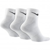 Adults socks Nike Leightweight Quarter 3-pack SX4706-101