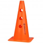 Cone with holes 37,5 cm orange