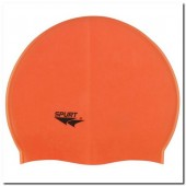 Swimming cap silicone SPURT G503 orange