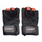 Adults training gloves black/red HMS M