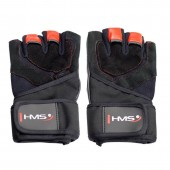 Adults training gloves black/red HMS XL