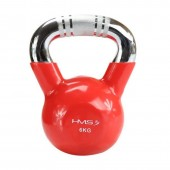 Kettlebell rubberized HMS KTC06 RED