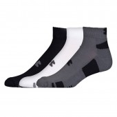 Adults training socks Under Armour Heatgear Tech Locut 3-pack 1312430-040