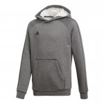 Kids training sweatshirt adidas Core18 Y Hoody Junior CV3429