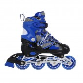 Kids ice skates/ rollerblades Nils Extreme 2w1 Blue 31-34 NH18366 A