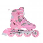 Laste uisud/rulluisud Nils Extreme 2w1 Pink 35-38 NH18366 A