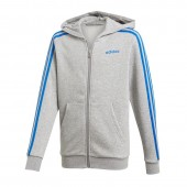 Dressipluus lastele adidas Essentials 3S Full Zip Hoodie JR DX2472