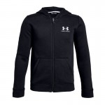 Dressipluus lastele Under Armour Cotton Fleece Full Zip JR 1343677-001