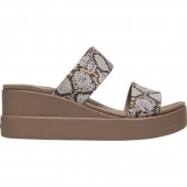 Naiste plätud Crocs Brooklyn Mid Wedge W 206219 93T