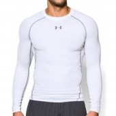 Compression shirt Mens Under Armour HeatGear Compression Longsleeve 1257471-100
