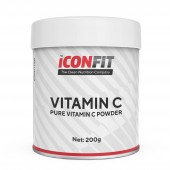 Vitamiin C pulber 200 g Iconfit