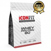 Proteiin Whey Protein 80 1 kg maasika Iconfit