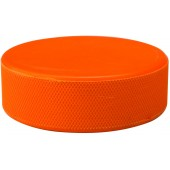 Icehockey Puck in Blister Orange Nijdam