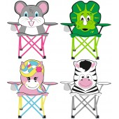 Hiking chair for kids foldable Animal Comic Abbey