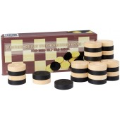 Draughts Pieces Abbey