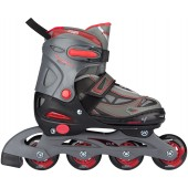 Adjustable rollerskates for kids Semisoft boot Nijdam