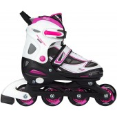 Adjustable rollerskates for girls Semisoft boot Nijdam