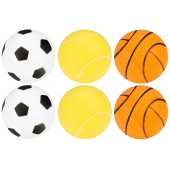 Table Tennis Balls with Print in Tube 6 Pieces Get & GO