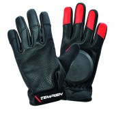 Leather longboard gloves Red Devil Tempish