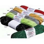 Hockey laces 180-320 cm waxed