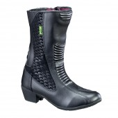 Women's Leather Moto Boots W-TEC NF-6090