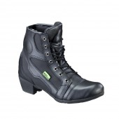 Women's Leather Moto Boots W-TEC NF-6092